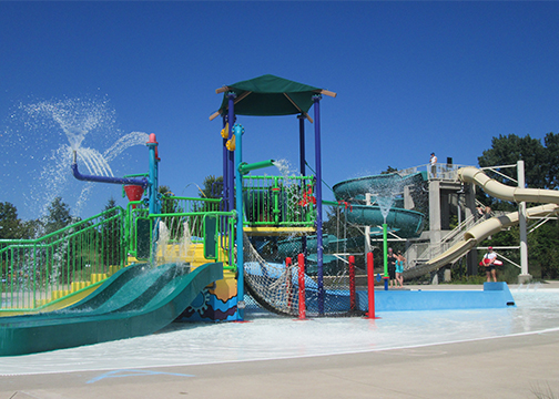 Playground Center at Aquatic Center