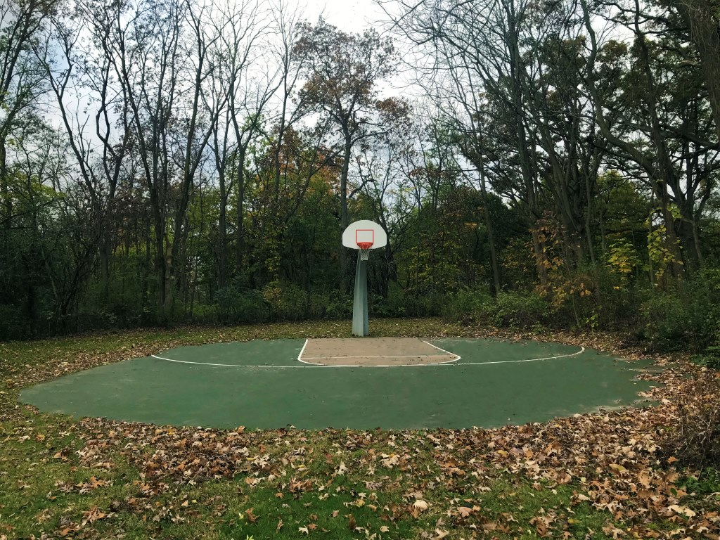 Woodland Park Basketball Court