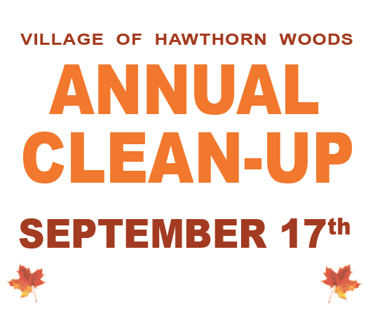 Annual Clean-Up September 17th