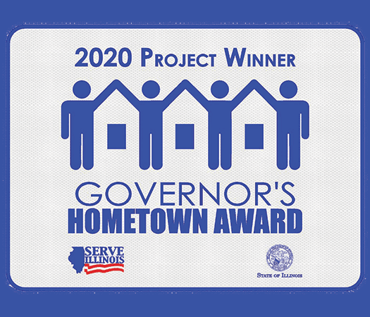 2020 Project Winner Governor's Hometown Award